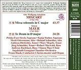 Mozart : Missa Solemnis - Mayr : Te Deum
