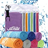 VACNITE Cooling towel for all sports and exercise, with portable hook clip cold