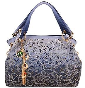 Borse Donna,Coofit Borsa PU Pelle Eleganti Tote Bag