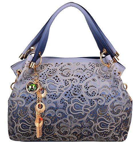 Coofit-Moda-Vintage-Tote-Bag-Borsa-Delle-per-le-Donna