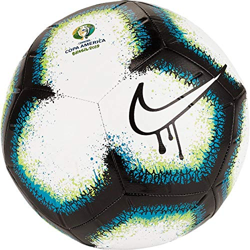 Nike Copa America NK Strk Balon de fútbol, Unisex Adulto, Black/Blue/White, 4