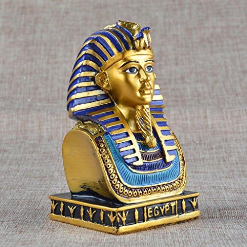 PETSOLA Alter ägyptischer König TUT Resin Travel Souvenir Statue Figurine Decor Crafts (Statue Von König Tut)