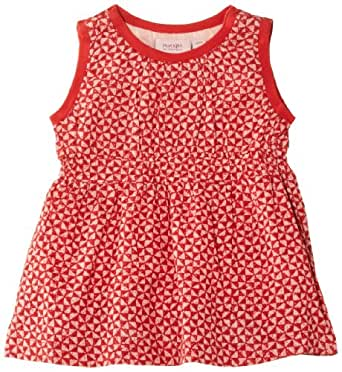 Noa Noa Baby Girls Baby Setia Dress, Red (Red Clay), 0-3 Months (Manufacturer Size:3 Months)