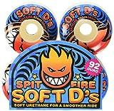 Spitfire Jeu de 4 Roues de Skateboard Soft D'S 92Du 54mm