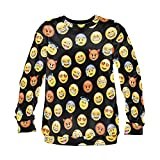 Emoji Sweater Emoticon Smileys Symbole Smartp...Vergleich