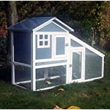 BUNNY ARK - Hybrid - Double Tier Rabbit Hutch Guinea Pig House Cage Pen Home (RH10) - In Stock