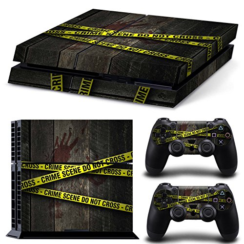 46 North Design Ps4 Playstation 4 Pegatinas De La Consola Scene Crime + 2 Pegatinas Del Controlador 61rtYdlUnwL