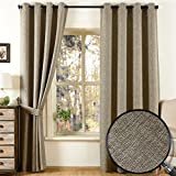 Best Home Fashion Blackout Curtains 100s - Qinuo Home Weave Texture Home Fashion Window Fully Review