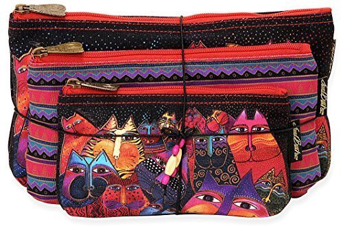laurel-burch-three-in-one-cosmetic-bag-set-fantasticats-by-laurel-burch