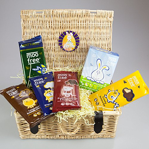 Moo free hamper basket by moreton gifts dairy free easter moo free hamper basket by moreton gifts dairy free easter egg and large bars negle Image collections