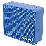 Blaupunkt BT04 Bluetooth tragbarer Retro Lautsprecher mit Radio und MP3-Player (Blau)