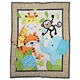 kids Jungle 2 Piece Comforter And Pillowcase