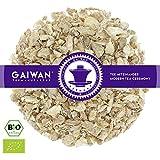 """Núm. 1176: Té de hierbas orgánico """"Jengibre puro"""" - hojas sueltas ecológico - 100 g - GAIWAN® GERMANY - jengibre de la agricultura ecológica en India"""