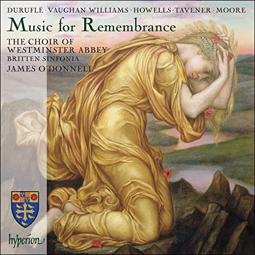 Music for Remembrance. Duruflé, Vaughan Williams, Tavener : uvres sacrées. O'Donnell.