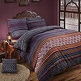 ShawsDirect Aztec Ethnic/Indian Design Bedding Reversible Quilt/Duvet Cover Set (Single)