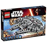 Lego 75105 - Star Wars - Jeu de Construction - Millennium Falcon