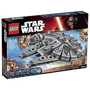 Lego Star Wars 75105 Millennium Falcon Astronave 5702015352659 LEGO
