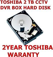 Toshiba 2TB Sata HDD Cctv Dvr Hard Disk (DT01ABA200V)