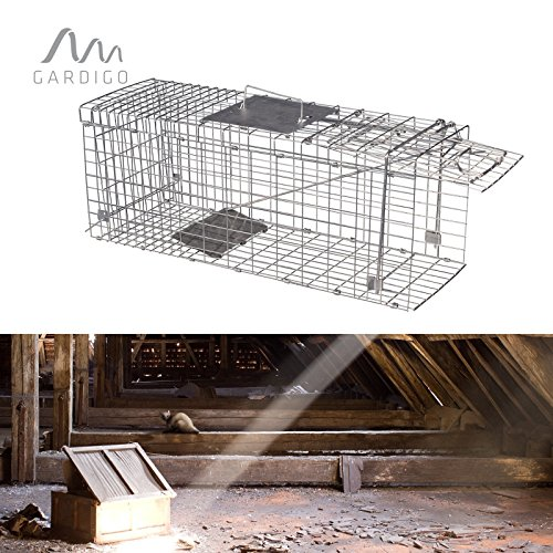Katzen-Marder-Lebendfalle 66x26x23 cm
