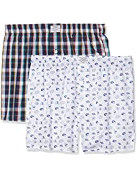 Springfield Pack 2 Woven Sushi, Boxer Homme