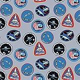 Unbekannt Riley Blake Astronaut Space Stoff – NASA Space
