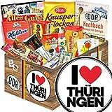 I Love Thüringen ♥ Süßigkeiten Set DDR ♥ Thüringen Geschenk