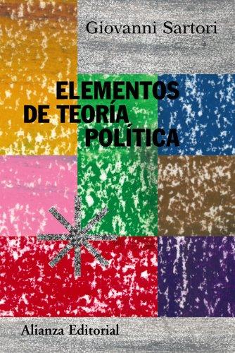 Elementos de teoría política (Alianza Ensayo)