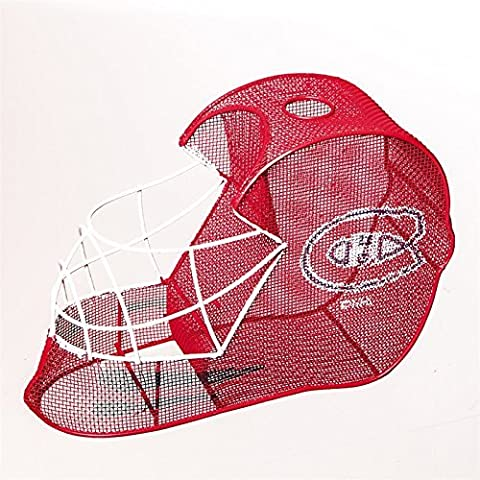 Montreal Canadiens Goalie Helmet Bottle and Cork Cage Holder by Evergreen Enterprises
