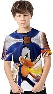 TRVPPY Maglietta da bambino modello Super Mario taglia 2 12 anni in diversi colori.