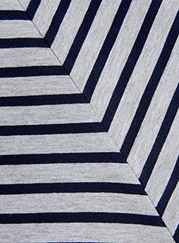 oodji Ultra Damen T-Shirt Basic Aus Baumwolle Grau (2379S)