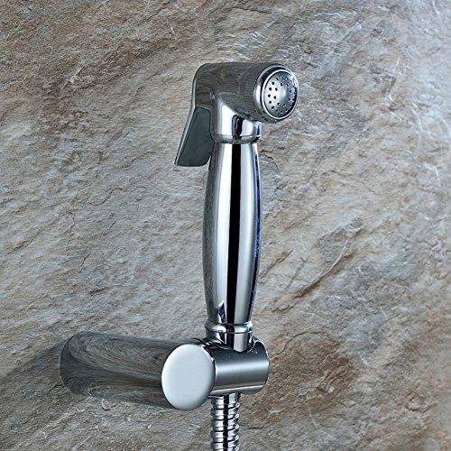 HCP Tout robinet cuivre lavage à chaud et à froid bidet bidet/bidet/costume angle de toilettes buse soupape de pistolet sous pression