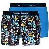 bruno banani Herren Short 2er Pack Comic, 2er Pack, Blau (Blau Print// Blau 2146), X-Large