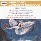 Stravinsky: The Firebird; Fireworks; The Song of the Nightingale; Tango; Scherzo � la russe