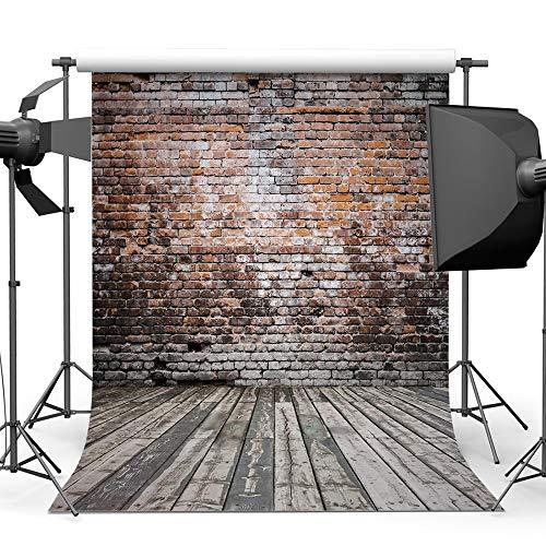 Garden hall Backsteinmauer Fotografie Hintergrund Tuch Baumwolle Studio Foto TV Hintergrund Wand 5x7ft (Color : D) (Tv Studio-hintergrund)