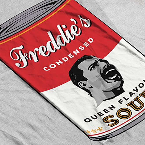 Campbells Freddie Mercurys Queen Flavour Soup Women's Vest Heather Grey