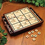 Bits and Pieces Wooden Sudoku Game Board