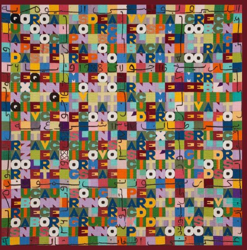 Order and Disorder: Alighiero Boetti by Afghan Women