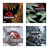 Jurassic Park 1+2+3+4 - 4 DVDs -SET- 4 Filme- ( 1+2+3 + Jurassic World)