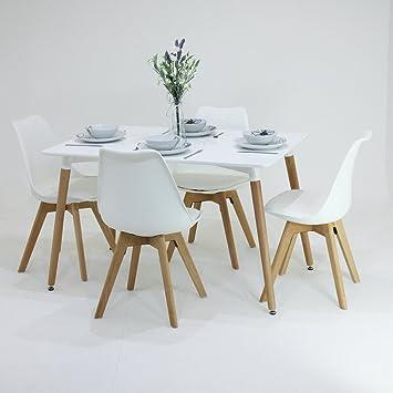 Great p u n homewares set tavolo e sedie lorenzo per sala da pranzo retr e moderno scandinavo - Colori per pareti sala da pranzo ...