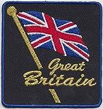 Great Britain Union Jack / United Kingdom UK Flagge, Bestickt, EC1011)