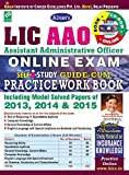 #5: LIC AAO Online Exam Guide – Cum – Practice Work Book  (With CD)– English - 1548
