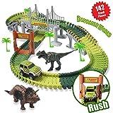 ACTRINIC Pista de Carreras Juguetes de Dinosaurios Mundo Jurásico 142...