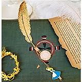 Dekorationspapier Feather Muster Märchen Stil Metall Lesezeichen Geschenkpapiere