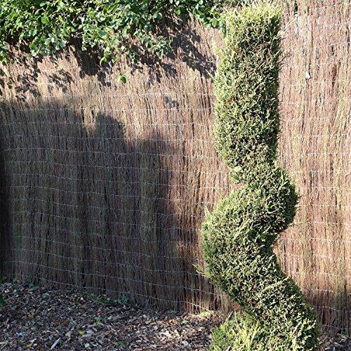 Marko decorativo Sottobosco screening recinzione in legno protezione privacy 4m 1m 1,5m 2m
