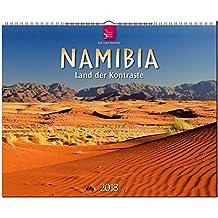 NAMIBIA - Land der Kontraste: Original Stürtz-Kalender 2018 - Großformat-Kalender 60 x 48 cm