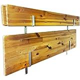 Martenbrown® väggfäste för markeringsram uppsättning, öl och öl bänk bord / Z Galvanis vinkel för öl tabell set / Konsol för