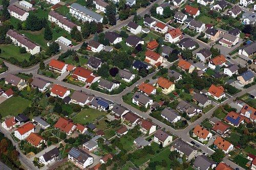MF Matthias Friedel - Luftbildfotografie Luftbild von Florianstraße in Großmehring (Eichstätt), aufgenommen am 14.09.06 um 13:45 Uhr, Bildnummer: 4421-01, Auflösung: 4288x2848px = 12MP - Fotoabzug 50x75cm