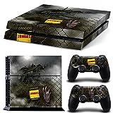 46 North Design pieno sticker della pelle skin Zombie Horror per le console PS4 x 1 e controller x 2