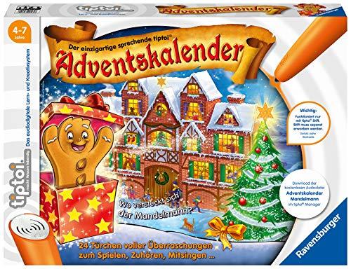 Ravensburger tiptoi Interaktiver Adventskalender Mandelmann