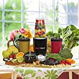 Texet BB-6088 NUTRIBLENDER | 600 Watt Blender/Mixer System with Oxidation proof containers | Must have for health conscious people | Just blend your mix and take container with you | Tesco UK Bestseller | Indian Plug